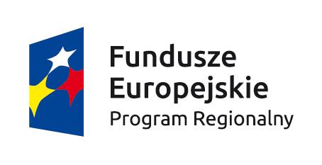 Znak Fundusze Europejskie z podpisem Program Regionalny